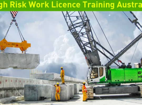high risk work licence training courses