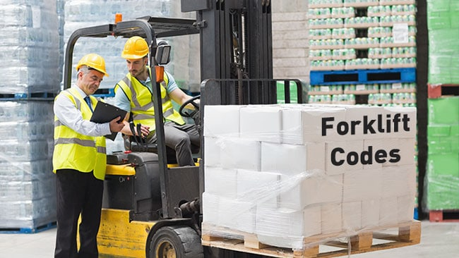 forklift licence codes high risk work licence