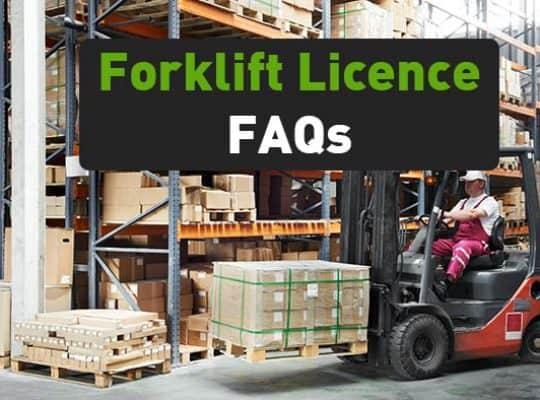 forklift licence faqs